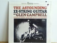 GLEN  CAMPBELL     LP    THE  ASTOUNDING   12  STRING  GUITAR  OF GLEN CAMPBELL