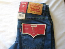 Boy'S Levi'S 511 Slim Jeans Nwt Size 8 Regular (See Measurements) Style #2:B20-4
