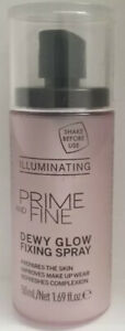Catrice Cosmetics Prime & Fine Illuminating Dewy Glow Spray Transparent 50ml New