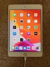 Apple iPad mini 4 128GB, Wi-Fi + Cellular (Verizon), 7.9in - Gold (READ FIRST)