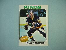1975/76 O-PEE-CHEE NHL HOCKEY CARD #15 FRANK ST. MARSEILLE NM SHARP!! 75/76 OPC