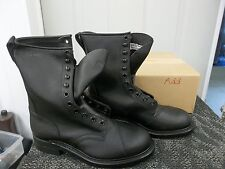 ADDISON BOOT BLACK SAFETY SHOE STEEL TOE SIZE 10.5 10 1/2 WOMENS LADIES WORK NEW