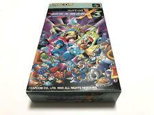 SFC Megaman Rockman X3 Super Famicom Tested & Working SNES