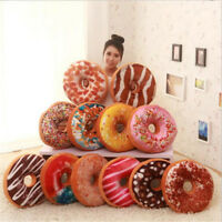 3D Soft Pillow Cover case Plush Donuts Home Decoration Cushion Pillowcase Gifts