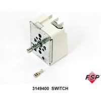 WP3149400 Whirlpool Range Surface Element Control Switch 3148954