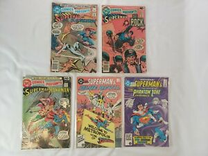 DC Comics Presents Lot of 5 #10-11,18,96-97 FN+ - NM+ *HUGE AUCTION GOING ON*