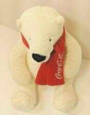 "Dan Dee Coca-Cola Polar Bear 8"" Plush Stuffed Animal Toy 2013"