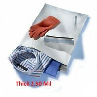 300 - 9x12 White Poly Mailers Shipping Envelopes #3 Bags 2.5Mil 9 x 12