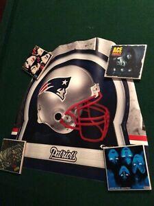 New England Patriots Fathead Helmet New 16x16