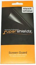 6X Supershieldz HD Clear Screen Protector for ZTE Avail 2/Prelude, 6 pack, NEW