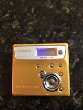 Sony Mz N505 Yellow Portable Walkman
