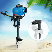 2 Stroke Outboard Motor 3.5HP Speedboat Engine Motor Air Cooling 2.5kw +CDI USA