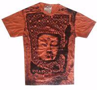 Yoga Short sleeve Men t shirt Sure Pure Concept Buddha New Art Love Om Cotton