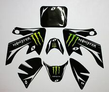 Monster Sticky Decal Graphics Sticker Kit CRF50 Fairing PIT PRO Trail Dirt Bike