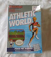 Nintendo NES Athletic World FACTORY SEALED game cartridge FREE SHIPPING Rare