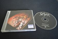 SLAYER GOD HATES US ALL RARE AUSTRALIAN CD!