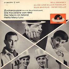 """BILL RAMSEY a.o. – Zuckerpuppe (Aus Der Bauchtanztruppe)(1961 EP 7"""" GERMANY)"""