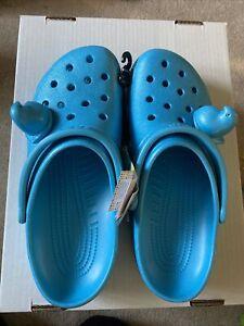 Crocs Easter Peeps Blue Classic Clog Men 11 / Women 13 New Tags Only 1 Peep Per