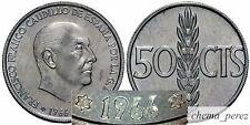 // 1 moneda de 50 centimos peseta 1966 *69 SC \