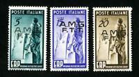Trieste Stamps # 42-4 VF OG LH
