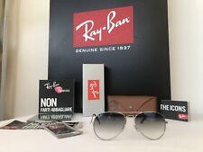 Occhiali Da Sole Ray Ban Aviator RB 3025 003/3F Size 58
