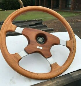 Jaguar xj and xjs steering wheel MOMO wood