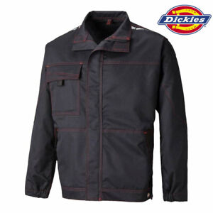 Dickies Mens Spring Summer Jacket Lightweight Work Coat Pro Cordura Hi Viz