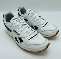 Reebok Classics Men's Harman Run Lace-Up Sneaker - White / Black US 11M EUR 44.5