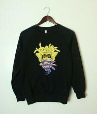Crooks & Castles Men's Small Black Medusa Sweatshirt