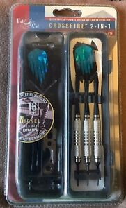 Rare NEW Fat Cat Crossfire 16g 2-in-1 Conversion Darts Soft /Steel FREE Shipping