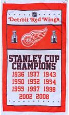 Free Ship to USA NEW DETROIT RED WINGS CHAMPIONS NHL 3x5 Feet  FLAG BANNER sign