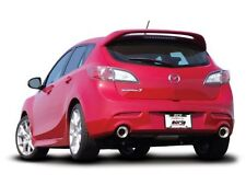 "Borla Dual 2.75"" SS Rear Section Exhaust for 2010-2013 Mazda 3 2.5/2.3L"