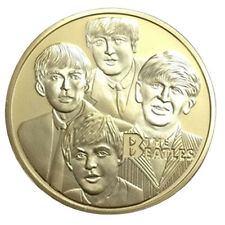 The Beatles Gold Commemorative Collectors Coins Delicate Gift Hot Selling