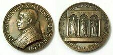 Medaglia Pius XII Pontifex Maximus Anno MCMLVI 1956 Bronzo