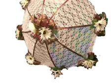 "32"" Bridal Shower Wedding Brown  daisy UMBRELLA PARASOL"
