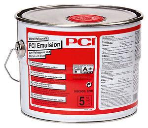 PCI Emulsion 5kg Of For Mortar Plaster & Haftschlämme