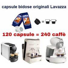 120 Cialde capsule BIDOSE = 240 caffè LAVAZZA CREMA AROMA TOP SELECTION NIMS