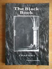 The Black Book: Dark Fantasies Creation Press Paperback Edited By Tony Reed