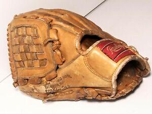 "VINTAGE RAWLINGS GJ69 JIM LEFEBVRE 11"" Baseball Glove Mitt W/ Basket Web"