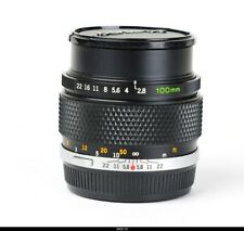 Lens Olympus OM 2.8/100mm