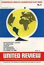 1968 World Club Championship - Man Utd v Estudiantes