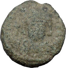 MAURICE TIBERIUS 582AD Catania Mint Ancient Medieval Byzantine Coin i31805