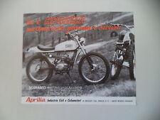 advertising Pubblicità 1970 MOTO APRILIA SCARABEO 50