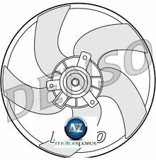 FOR PEUGEOT 206  1.1 1.6 2.0 S16 1.4 1.6 HDi 1.9D 1998--> RADIATOR COOLING FAN