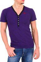 T-Shirt Maglietta Uomo Maglia Cotone BAXMEN A557 Tg S M L XL