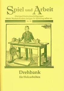 Das Selbstanfertigen einer Drehbank (Drechselbank) - Holzkörper, Lagerträger NEU