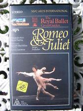 ROMEO & JULIET~ROYAL BALLET COVENT GARDEN~ALESSANDRA FERRI, WAYNE EAGLING ~VIDEO
