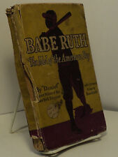 "Babe Ruth - The Idol of the American Boy by ""Daniel"""