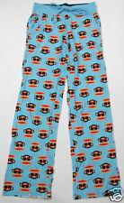 Paul Frank  Sleep Wear Pajama Pants PJ  Lounge Pants  Blue Julius XS 100% Cotton
