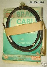 FRONT BRAKE CABLE DeSoto 1961 All with Standard Trans